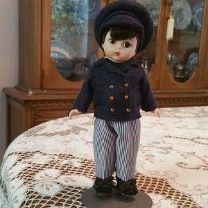 """Vintage Madame Alexander Laurie Men Doll 8"""""""